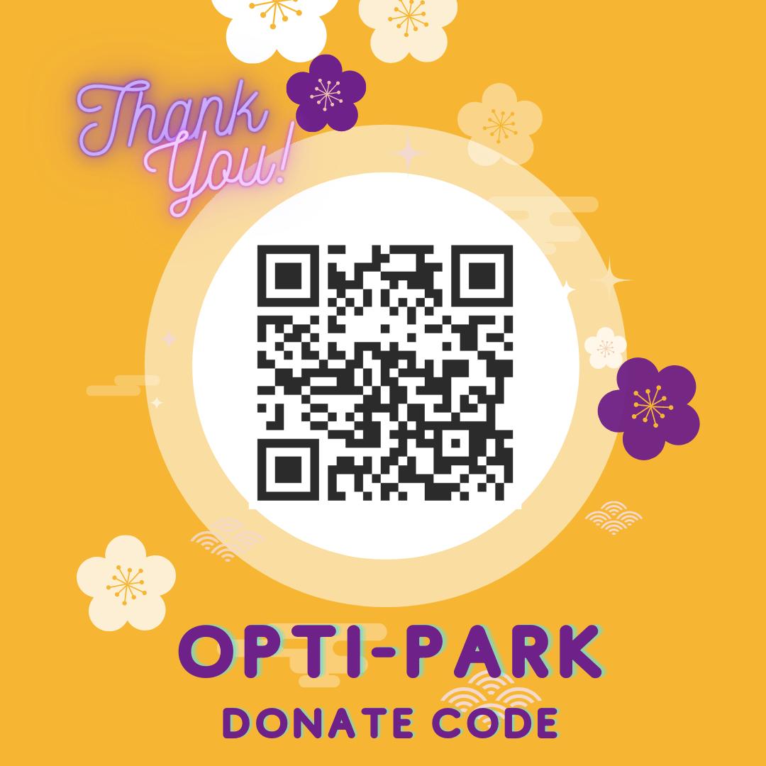 OptiPark QR Donate Code